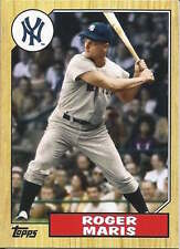 Roger Maris 2012 Topps mini insert baseball card TM-95