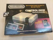 NINTENDO NES001 CONTROL DECK GAME SYSTEM ( Box Only ) Rare 1987 NES Original