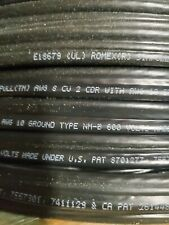 8/2 WITH GROUND 50' FT ROMEX NM INDOOR ELECTRICAL WIRE