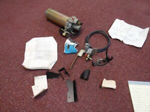 "NOS PONTIAC 1968 ""SUPERLIFT"" ACCY AIR COMPRESSOR KIT FULL SIZE AIR SUSPENSION"