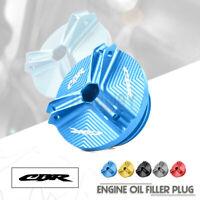 Engine Oil Filler Cap Plug Screw cover for HONDA CB650R CBR650R CBR500R CB1000R