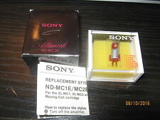 Sony ND-MC2E stylus for XL-MC2 moving coil cartridge- NOS!!   RARE!!