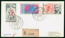 Mayfairstamps Niger 1971 Olympics Registered Combo cover wwp1089