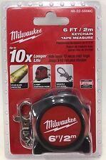 Milwaukee 6 ft. Keychain Tape Measure
