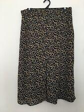 Women's Plus Size 18 A-Line Floral Skirt