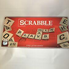 Scrabble ~ 2013 Crossword Board Game ~ Hasbro Gaming ~ 100% Complete