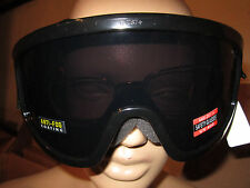 Motorcycle Goggles Dark Smoke Dirt Bike Fitover Fit Over Prescription Glasses