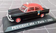 Belle PEUGEOT 404 TAXI PARIS 1962 - ALTAYA - 1/43