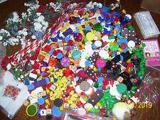 Crafts, Dice, Dominos, Mini Flowers, Board Game Pieces / Parts, Magazines, Beads