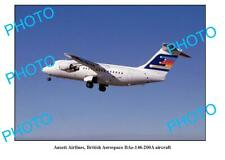 OLD 6 x 4 PHOTO ANSETT AIRLINES BRITISH AEROSPACE BAe-146 AIRCRAFT
