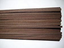 20 Holzleisten Wenge 1000 x 10 x 0,6 mm