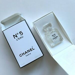 Chanel No 5 L'EAU 0.05 oz / 1.5 ml Eau De Toilette Miniature VIP GIFT