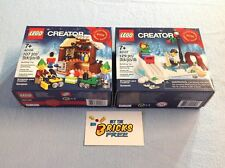 Lego Christmas Exclusives 40106 & 40107 New/Sealed/Retired/Hard to Find