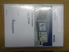 manuel utilisation Signal Generator Rohde & Schwarz SMF100A (Quick Start Guide)