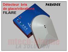Détecteur Bris de Glace/Vibrations Filaire PARADOX