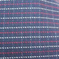 "Vintage 1970's 1960's Wool Design Fabric 60""x104"""