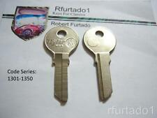 Key Blank for Vintage Saab 1957 to 1963  Secondary key   (SB4) See Code Series