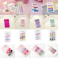 Candy Color BB Hair Snap ClipS Hairpin Barrette for Baby Girls Gift Hair Access