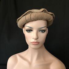 Afghanistan PAKOL Chitrali Masoud Mujahideen Military Wool Hat BEIGE Uber Kuchi®