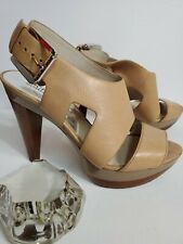 "Michael Kors Strappy Open Toe 4.5"" Heels Pump Shoes 7.5M"
