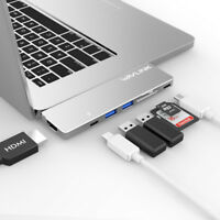 Wavlink Thunderbolt 3 USBC Hub Adapter, Macbook Pro 2018/2019 13 '' e 15'4K HDMI