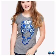 Justice Girls Size 8 Floral Owl Tee 🦉New With Tags