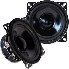 EVO CS100W - 10cm Mitteltöner Lautsprecher Paar 100mm Mid-Bass Woofer Speaker