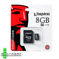 Kingston 8GB Micro SD memory Card Class 4 Memory card Mobile devices NEW