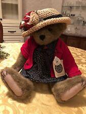 Eleanore Bearsevelt Boyd's Bears Plush Teddy Bear With Tag