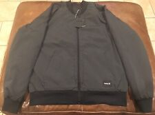 HURLEY Bomber Jacket Size Large Men's New With Tags INDO SOUVENIR JKT MSRP $120