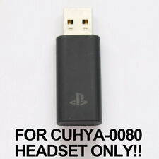Genuine Sony PlayStation Gold Wireless Headset USB Dongle Receiver (CUHYA-0081)
