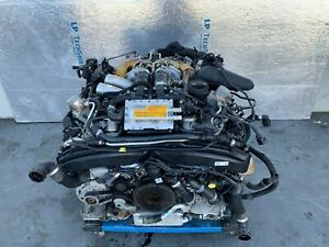 ENGINE MOTOR BLOCK COMPLETE CODE ZBG 13-15 AUDI S6 S7 S8 4.0 TESTED!!