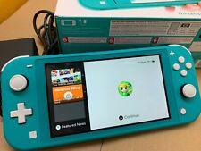 Nintendo Switch Lite Handheld Console 32GB  - Turquoise - Open Box