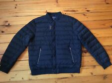 Polo Ralph Lauren Lightweight Down Bomber Jacket Men's Navy Sz- XL