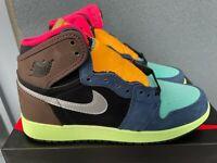 NEW 2020 Nike Air Jordan 1 Hi I GS Retro sz 6Y 6 Y Tokyo Bio Hack grade school