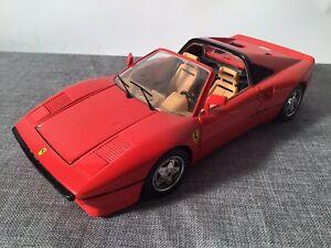 Ferrari GTO TARGA UMBAU 1984 von ehemals Bburago in 1:18