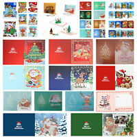 5D DIY Diamond Handmade Christmas Greeting Cards Xmas Festival Birthday Gifts