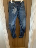 Gstar Raw Arc 3D Slim Mens Jeans BNWT UK 28/32