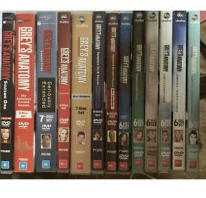 DVD Series: Grey's Anatomy - Complete Season 01 - 13 (77 discs in Total)