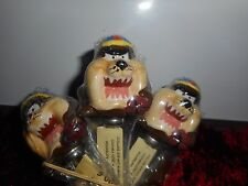 Lot de 6 petites cuillieres Ceramique Acier Looney tunes Warner Bros Taz