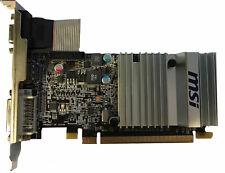 MSI ATI Radeon HD 5450 512MB passive Grafikkarte PCI Express 2.1 DVI VGA HDMI