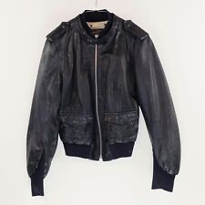 BROGDEN  Black Leather Jacket_XL