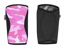 RockTape Knee Caps Pads Weight Power Lifting Running Support Med 5mm Pink Camo