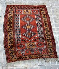 PRAYER RUG. WOOL KNOTTED BY HAND. BELOUCH. MIDDLE EAST. PRINCIPLE XX.