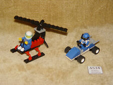 LEGO  Sets: Town: Race: 6618-1 Blue Racer & Extreme Team: 1068-1 Air Patrol 100%