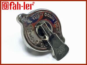 Fahler Stainless Steel Radiator Rad Cap + Release Valve 10lbs LANDROVER DEFENDER