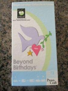 Cricut BEYOND BIRTHDAYS Cartridge SHAPES - CARD Framed SHADOW