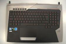 Asus ROG G752V Palmrest w Touchpad & Backlight Keyboard 13nb09y0ap0631