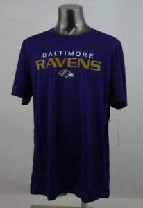 NFL Baltimore Ravens Tee Purple Youth Size Large New with Tags