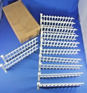 O/S - Plasticville - #CF-5 Dealer Box -Picket Fence Sections - Early Box